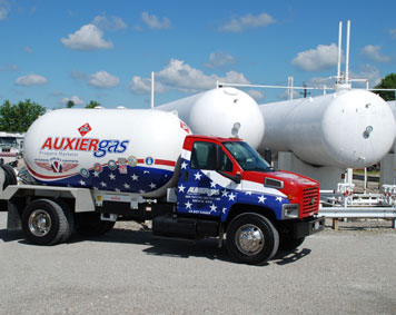 Image of Auxier Gas truck